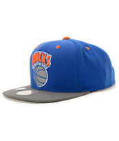 NBA Mitchell and Ness Knicks XL Reflective Snapback Hat