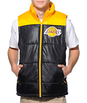 NBA Mitchell and Ness Lakers Black Vest