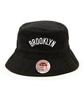 NBA Mitchell and Ness Nets Bucket Hat