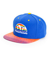 NBA Mitchell and Ness Nuggets Court Vision Snapback Hat