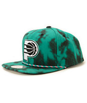 NBA Mitchell and Ness Pacers Greenback Strapback Hat