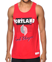 NBA Mitchell and Ness Portland Trailblazers Tank Top