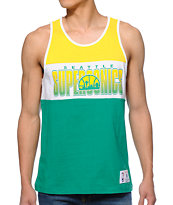 NBA Mitchell and Ness Seattle Sonics Tank Top