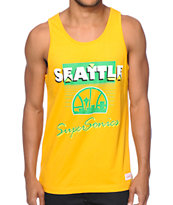 NBA Mitchell and Ness Seattle SuperSonics Tank Top