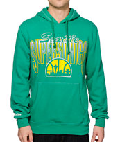 NBA Mitchell and Ness Sonics Dot Hoodie