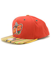 NBA Mitchell and Ness Sonics Native Stripe Snapback Hat