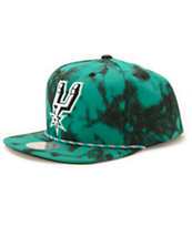 NBA Mitchell and Ness Spurs Greenback Strapback Hat