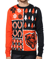 NFL Forever Collectibles Bears Busy Block Sweater