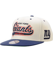 NFL Mitchell & Ness New York Giants Tailsweeper Snapback Hat