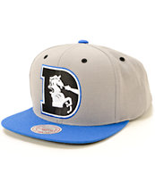 NFL Mitchell and Ness Broncos Arch Under 2 Tone Snapback Hat