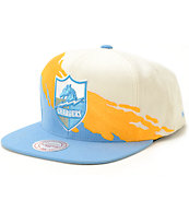 NFL Mitchell and Ness Chargers Paintbrush Snapback Hat