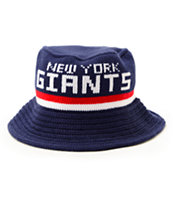 NFL Mitchell and Ness Giants Knit Bucket Hat