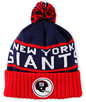 NFL Mitchell and Ness Giants Pom Beanie