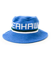 NFL Mitchell and Ness Seahawks Knit Bucket Hat