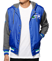 NFL Mitchell and Ness Seahawks League Standings Jacket