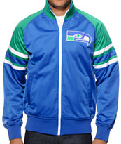 NFL Mitchell and Ness Seahawks Trade Deadline Track Jacket
