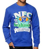 NFL Mitchell and Ness Seattle NFC Champs Crew Neck Sweatshirt