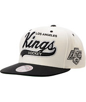 NHL Mitchell & Ness Los Angeles Kings Tailsweeper Snapback Hat