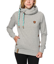 Naketano Darth Jeck Grey Melange Hoodie