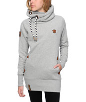 Naketano Darth Long IV Grey Hoodie