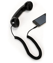 Native Union POP Metallic Black Retro Phone Handset