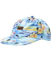 Neff Aloha Blue Hula Snapback Hat