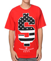 Neff American Dream Red Tee Shirt