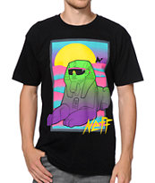 Neff Ancient Black Tee Shirt