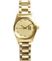 Neff Baller Gold Collection Fitted Watch