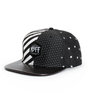 Neff Black N White Snapback Hat