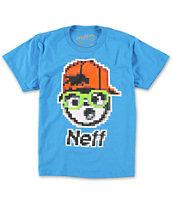 Neff Boys 8 Bit Kenny Turquoise T-Shirt