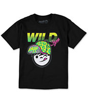 Neff Boys Cheetah Kenni Black T-Shirt