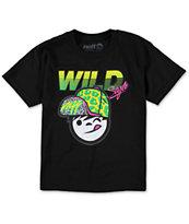 Neff Boys Cheetah Kenni Black T-Shirt