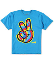 Neff Boys Concord Turquoise T-Shirt