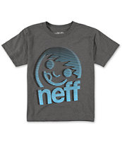 Neff Boys Corpo Blur Grey T-Shirt