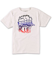 Neff Boys Distorted White T-Shirt