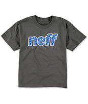 Neff Boys Fun Filled Charcoal T-Shirt