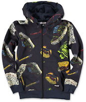Neff Boys Hamburger Zip Up Hoodie