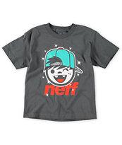 Neff Boys Jamie Charcoal T-Shirt