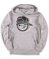 Neff Boys Kenny Movement Grey Pullover Hoodie
