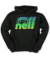 Neff Boys Knack Black Pullover Hoodie