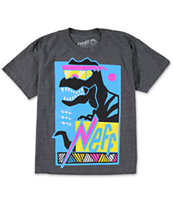 Neff Boys Maui-Rex Charcoal T-Shirt