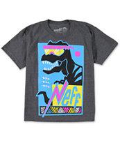 Neff Boys Maui-Rex Charcoal T-Shirt