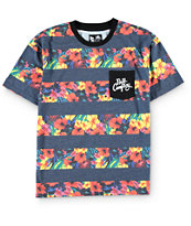 Neff Boys Paradise Floral Pocket T-Shirt