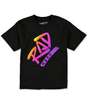 Neff Boys Rad Fill Black T-Shirt