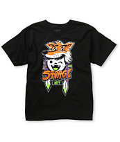 Neff Boys Savage Black Tee Shirt