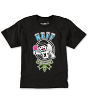 Neff Boys Taste Maker Black Tee Shirt