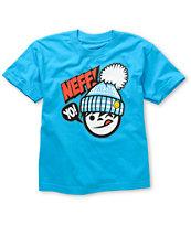 Neff Boys Yo Fresh Turquoise T-Shirt