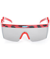 Neff Brodie Pink Leopard Sunglasses