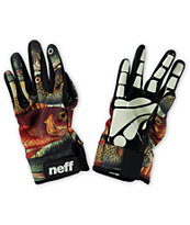 Neff Chameleon Fishes Pipe Snowboard Gloves